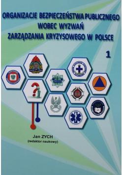 Organizacje bezpieczeństwa publicznego wobec wyzwań