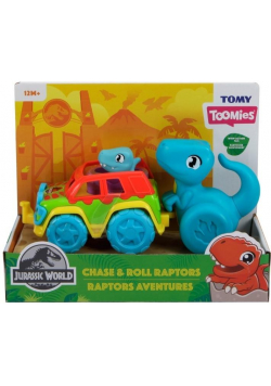 Toomies pojazd Chase & Roll Jurassic World TOMY