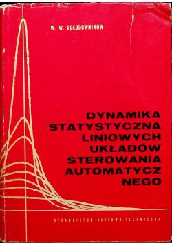 Dynamika statystyczna liniowych układów sterowania automatycznego