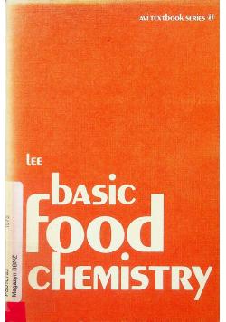 Basic food chemistry