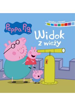 Peppa Pig Książka z filmem Widok z wieży