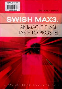 SWiSH Max3 Animacje flash jakie to proste