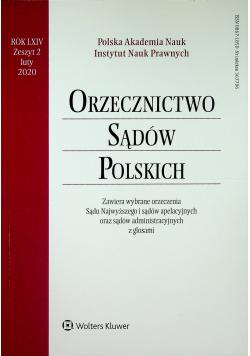 Orzecznictwo Sądów Polskich Rok LXIV Zeszyt 2