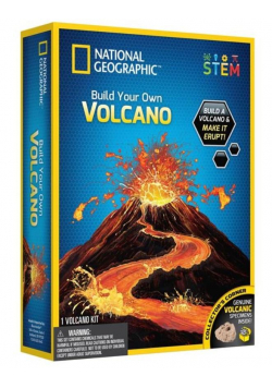 Zbuduj własny wulkan Nat Geo