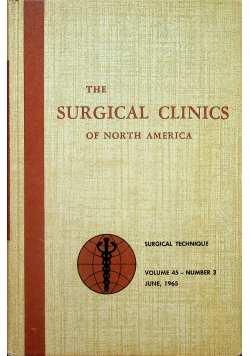 The surgical clinics of North America nr 3