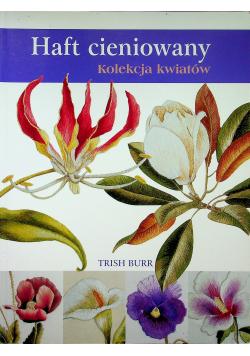 Haft cieniowany kolekcja kwiatów