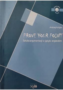 Prove your point Sztuka argumentacji w języu angielskim