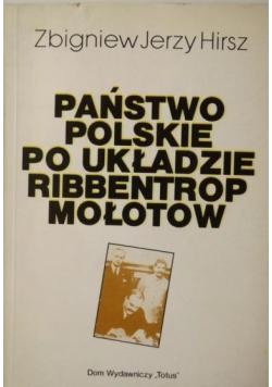 Państwo polskie po układzie Ribbentrop Mołotow