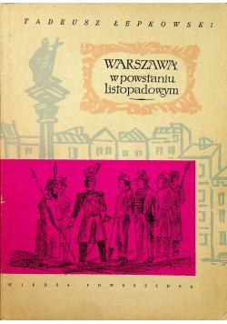 Warszawa w Powstaniu Listopadowym