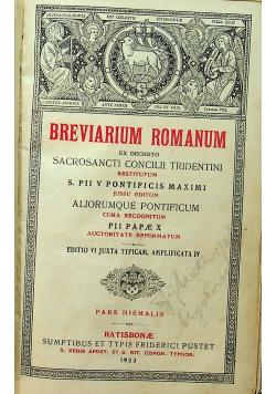 Breviarium Romanum 1923 r.