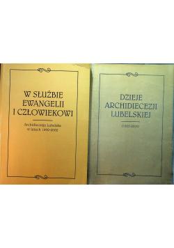 W służbie ewangelii i człowiekowi Dzieje archidiecezji lubelskiej 2 tomy