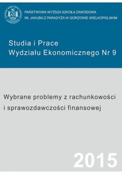 Studia i prace wydziału ekonomicznego nr 9