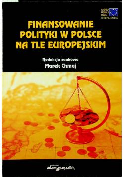 Finansowe polityki w Polsce na tle europejskim