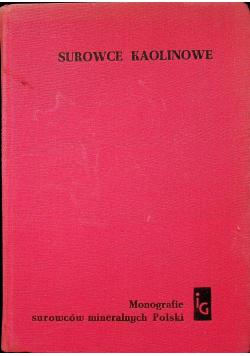 Surowce kaolinowe