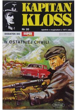 Kapitan Kloss Nr 20