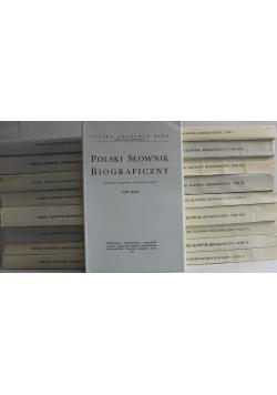 Polski Słownik Biograficzny 18 tomów