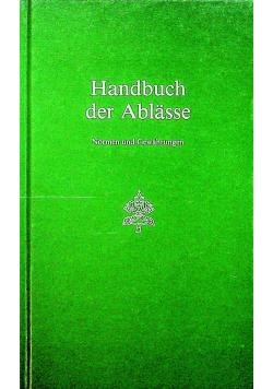 Handbuch der Ablasse