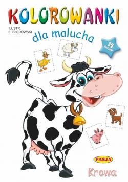 Kolorowanki dla malucha Krowa