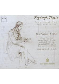 Fryderyk Chopin Koncert fortepianowy f moll CD nowa
