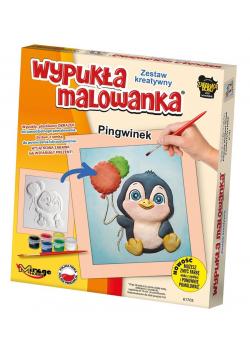 Wypukła Malowanka - Mały Pingwinek