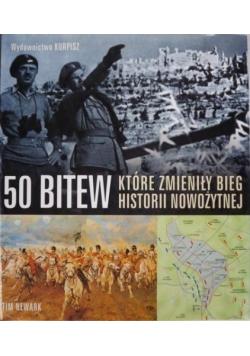 50 bitew które zmieniły bieg historii nowożytnej