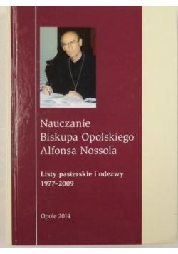 Nauczanie Biskupa Opolskiego Alfonsa Nossola