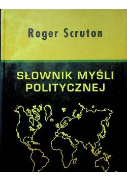 Słownik myśli politycznej