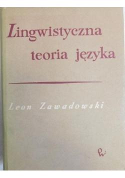 Lingwistyczna teoria języka