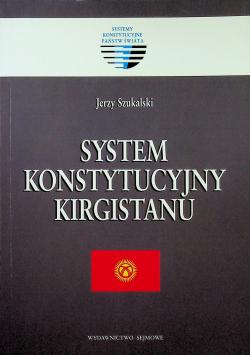 System konstytucyjny Kirgistanu