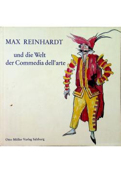 Max Reinhardt und die welt der commedia dellart