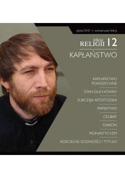 Lekcja religii 12. Kapłaństwo DVD + scenariusz..