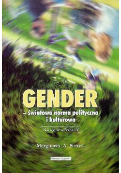 Gender  światowa norma polityczna i kulturowa