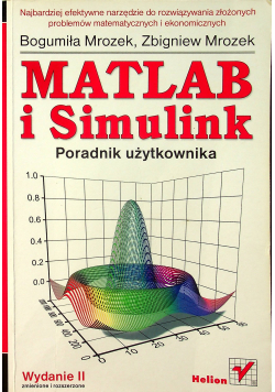 Matlab i Simulink Poradnik użytkownika