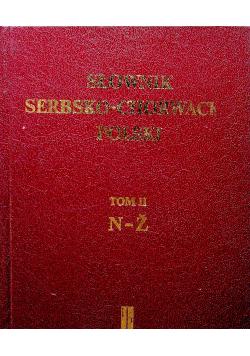 Słownik serbsko chorwacko polski Tom II