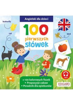 Angielski dla dzieci. 100 pierwszych słówek. Fiszk
