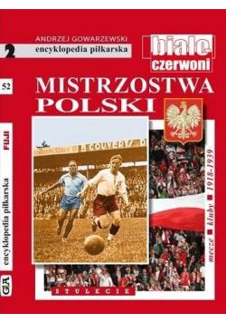 Encyklopedia piłkarska  Mistrzostwa Polski tom 53