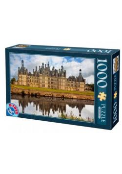Puzzle 1000 Francja, Zamek Chambord