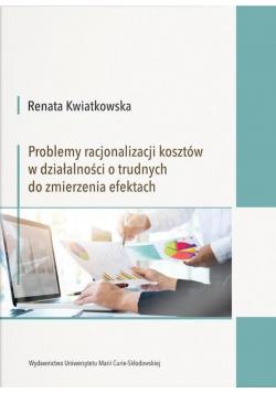 Problemy racjonalizacji kosztów w działalności...