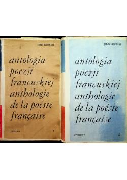 Antologia poezji francuskiej 2 tomy