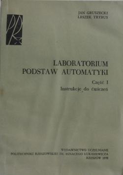 Laboratorium podstaw automatyki część I