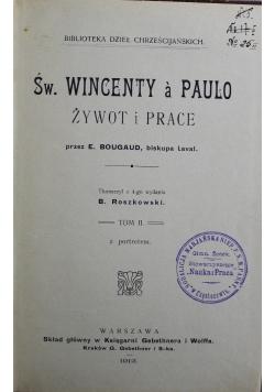 Św Wincenty a Paulo Tom II 1912 r.