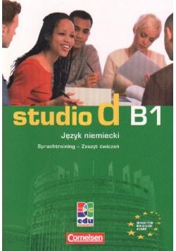 Studio d B1 Język niemiecki Zeszyt ćwiczeń