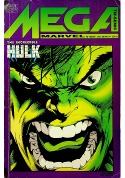 Mega Marvel The Incredible Hulk Nr 1
