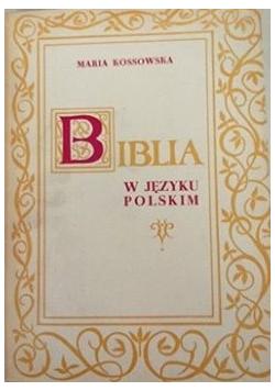 Biblia w języku polskim