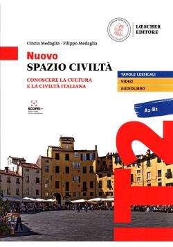 Nuovo Spazio Civilta A2-B1 Podręcznik + zawartość online