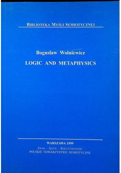 Logic and metaphysics