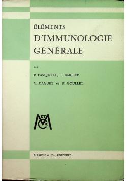 Elements Dimmunologie Generale