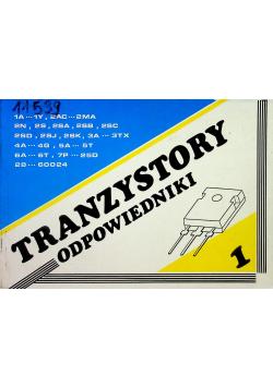 Tranzystory odpowiedniki tom 1