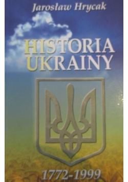 Historia Ukrainy 1772 1999