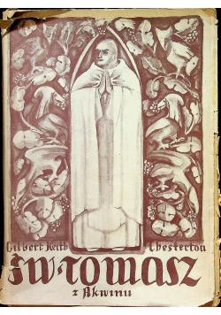 Św. Tomasz z Akwinu 1949r